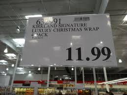 kirkland wrapping paper kirkland signature 4 pack luxury christmas wrap