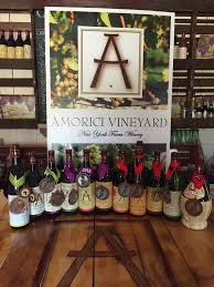 Washington Wineries Map by Amorici Vineyard