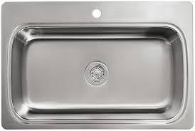 kohler verse sink review kohler k 3373 1 na verse single basin self rimming kitchen sink