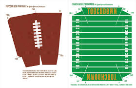 football party decorations free football party printables stadium snack recipes