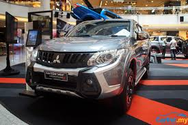 mitsubishi adventure 2017 2017 mitsubishi triton u2013 esc 7 airbags prices up auto news