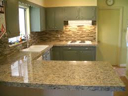 stone glass tile backsplash kitchen glass tile stone and glass
