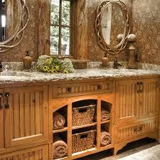 Rustic Bathroom Decor Ideas Rustic Bathroom Decor Free Home Decor Oklahomavstcu Us