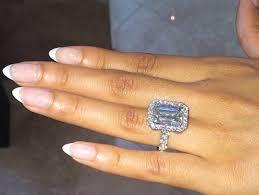 large engagement rings engagement rings 3 51 platinum emerald diamond ring h vs2