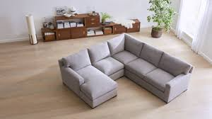 Crate And Barrel Sectional Sofa Reston Grey Sectional Sleeper Sofa Crate And Barrel