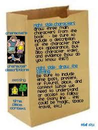 paper bag book report template book reports paper bag book report cc paper