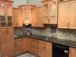kitchen colors with oak cabinets and black countertops beautiful