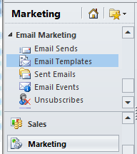 how to create e mail templates in dynamics crm 2011 using