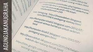 daftar pustaka merupakan format dari cara penulisan daftar pustaka dan kutipan yang benar agung jaka