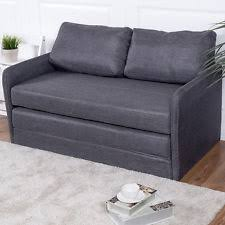 Gray Sleeper Sofa Loveseat Sleeper Ebay