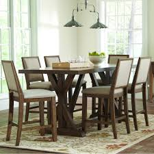 counter height dining room table sets buy bridgeport rustic counter height table and chair set by