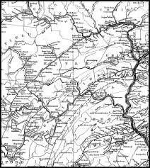 County Map Pennsylvania by Mifflin County Pagenweb Maps
