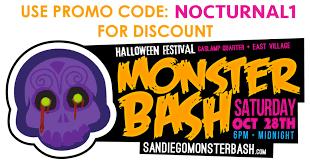 Halloween Costumes Discount Code Monster Bash 2017 Halloween Gaslamp Discount Tickets Promo Code