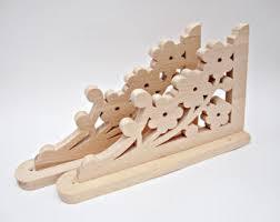 Woodworking Plans Shelf Brackets wooden shelf etsy