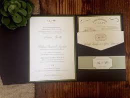 dani u0027s details burlap and wood wedding invitation with custom wax