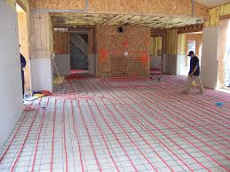 heated bathroom floor cost cost to install radiant floor heating