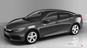 honda civic 2016 sedan honda pakistan will launch the 2016 civic at the same price as