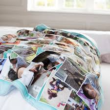 photo blankets uk create a personalised blanket with photo collages