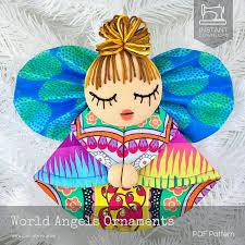 world ornament pattern diy ornaments tutorial