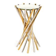 Brass Accent Table with Electrum Accent Table Modern Furniture Jonathan Adler