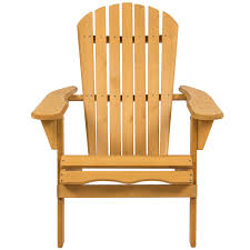 Wicker Outdoor Furniture Ebay by Best Choice Products Outdoor Wood Adirondack Chair Foldable Patio