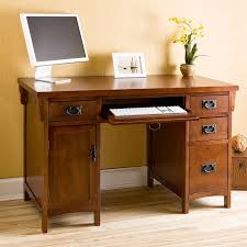 Mission Computer Desk Southern Enterprises Mission Computer Desk Hayneedle
