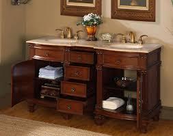 Bathroom Vanities 60 by 60 U201d Perfecta Pa 196 Bathroom Vanity Double Sink Cabinet Brazilian