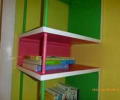 kids corner bookcase cool corner shelf unit design bookshelves shelving brackets