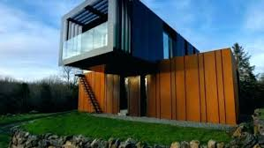 one house shipping container home builders modern homes house one trip high
