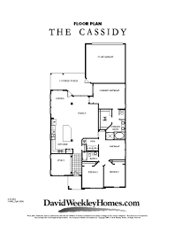 david weekley homes cassidy 2 007 sq ft viridian david