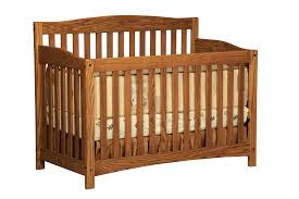 Convertible Baby Crib Plans by Baby Mary Jane U0027s Solid Oak Furniture