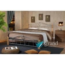 strikingly wood and metal bedroom furniture copper metal bed frame