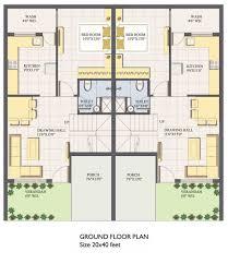house design 15 x 60 remarkable duplex house plan for 15x40 site ideas ideas house