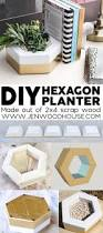 How To Make Planters by How To Make A Diy Hexagon Planter Out Of 2x4 Scrap Wood Planters