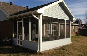 Shed Roof Screened Porch Custom Glass Windows For Screened Porch Glass Windows For