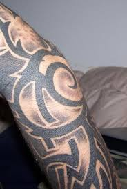 shaded tribal tattoos for design idea for and