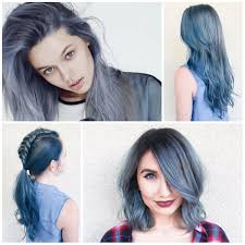 creative denim hair colors to use this year u2013 best hair color
