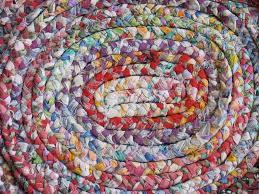 Crochet Oval Rag Rug Pattern Plaited Rag Rug Roselawnlutheran