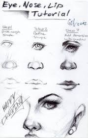 how to draw faces for beginners ehow carrie pinterest draw