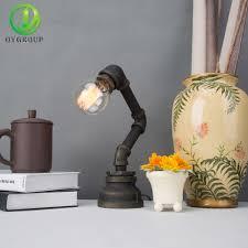 Nachttischleuchte Schlafzimmer Beleuchtung Aliexpress Com Vintage Tisch Lampen Kreative Industrielle