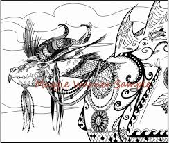 dragon coloring adults downloadable