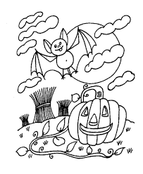 scary coloring sheets many interesting cliparts