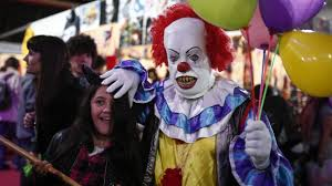 it is here to traumatize a new generation of clowns and kids