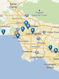 santa california map santa things to do