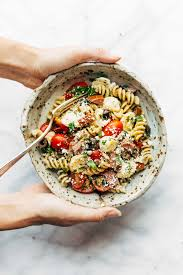 best easy italian pasta salad recipe pinch of yum