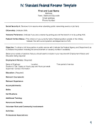 Current Job On Resume by Uga Federal Resume Guide