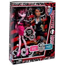 draculaura and clawd high festival draculaura clawd wolf exclusive 10 5