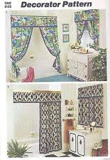 Drapery Patterns Professional Swag Curtain Pattern Ebay