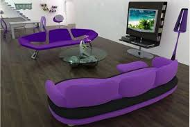 inspirational cute purple sofa for fashionable small living room