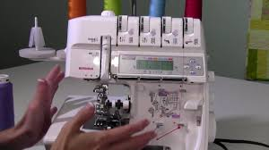 bernina 1300mdc 34 converting from serger to coverstitch youtube